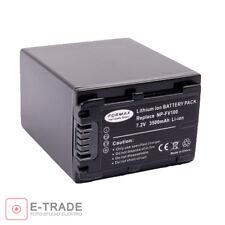 3500mAh 7.2V Camera Li-ion Battery Pack NP-FV100 for Sony Handycam NP-FV50 FV30