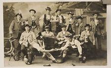 alte Foto AK Bayern Gruppe Burschen um 1900