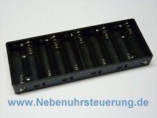 Batteriefach, flach für Nebenuhr Steuerung (Hauptuhr, Mutteruhr, Zentraluhr)