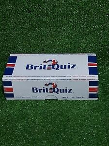 Brit Quiz General Knowledge Family Quiz Card Game Dinner Party New & Sealed