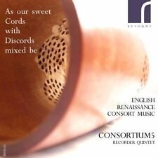 Consortium5 - As Our Sweet Cords With Discords Mixed Be [CD]