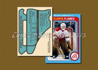 Rejean Lemelin - Atlanta Flames - Custom Hockey Card  - 1978-79