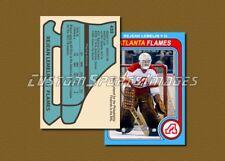 Rejean Lemelin - Atlanta Flames - Custom Hockey Card  - 1978-79