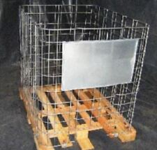IBC CAGE ON PALLET FOR STORAGE TRANSPORT JERRICAN DRUM 120 x 100 x 116 CM