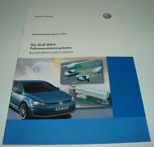 SSP 516 VW Golf 7 VII Fahrerassistenzsysteme ACC GRA RKA MKE Stand Dezember 2012