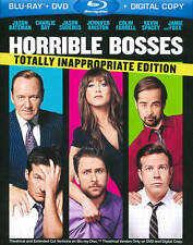 Horrible Bosses (Blu-ray/DVD, 2011, 3-Disc Set, Totally Inappropriate Edition)