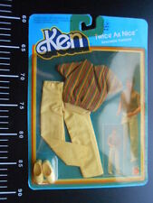 ♥ Barbie Ken Twice As Nice Casual Dress Outfits VINTAGE ♥ Mattel