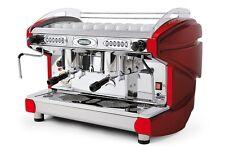 Espressomaschine Siebträger Siebträgermaschine Kaffeemaschine BFC LIRA 2 GR. Rot