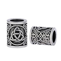 1 Piece Viking Knot Beads DIY for Bracelet / Pendant Necklace / Beard Hair Beads