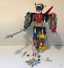 1984 Vintage Voltron Figure Panosh Place Black Blue Red Yellow Lion Keith Pid