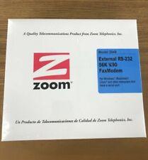 Zoom 2949 Data/fax Modem Serial - 1 X Rj-11 Phone Line, 1 X Rs-232 Serial - 56