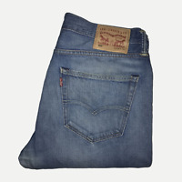 Levis 508™ 33W 32L Mens Jeans Slim Fit Light Blue Work Denim ENGINEERED