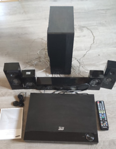 SAMSUNG HT-C5900 3D BLURAY HOME CINEMA SYSTEM inkl. Lautsprecher