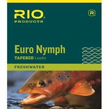 RIO Euro Nymph Leader - One Size - 6-24038 - New