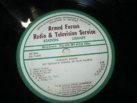 "ARMED FORCES RADIO 12"" RECORD PARADISE FOUND FANTASTIC STRINGS OF FELIX SLATKIN"