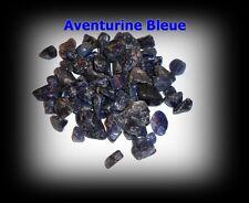 Lot 60 Pierres Roulées naturelles +++ AVENTURINE BLEUE +++ Quartz Bleu !