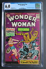 WONDER WOMAN #160 first SA Priscilla Rich aka CHEETAH 1966 Movie-2 CGC FN 6.0