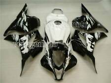 White Black Fairing ABS Body Kit Bodywork Set for Honda CBR 600RR 2009-2012 b#15