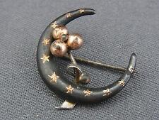 Bella vecchia spilla argento 800/- Tula con oro