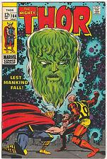 The Mighty Thor #164 FN/VF 1969 Marvel Comics Jack Kirby 3rd app Warlock Him