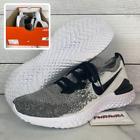 Nike Epic React Flyknit 2 Men's Size 9.5 Shoes Oreo BQ8928-101 No Lid