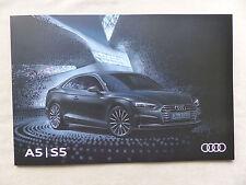 Audi A5 / S5 Coupe - Prospekt Brochure 06.2016