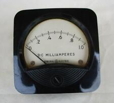 One General Electric Type Do 71 Dc Milliamperes 0 1 Panel Meter