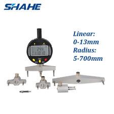 SHAHE Multi-Indicator Digital Radius Gauge Digital Indicator 5423-13