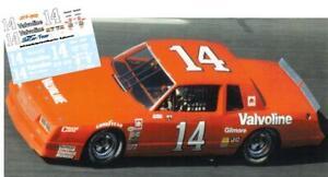 CD-1523-C #14 AJ Foyt  Valvoline Chevy  slot car/model  DECALS