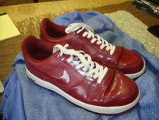 Nike Air Force 1   Crimson Red Patent Leather 315122-601 Size US 12