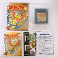 Pokemon Gold Pocket Monsters Game Boy Color GB Nintendo Japan