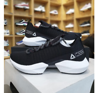 Reebok Sole Fury Running Athletic Shoes Black White DV4483 Sz4-12