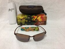 NEW Maui Jim Lighthouse Polarized Sunglasses Rootbeer / HCL Bronze H423-26