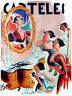 """18x24""""Quality Decor Poster.Room design art.Mirror on the wall.Comic.6899"""