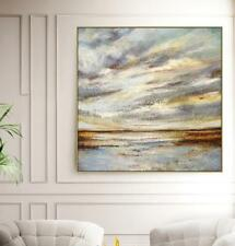 YA#465 Modern concise Abstract Scenery oil painting Hand-painted No Frame 24in