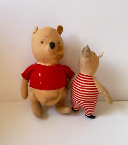 Vintage 1940 Winnie the Pooh Piglet Agnes Brush Great Collectible Antique Disney