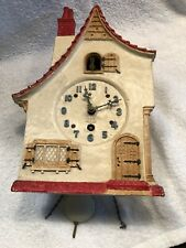 Lux 8 Day Large Dutch Cottage Wall Clock