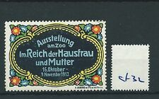 wbc. - CINDERELLA/POSTER - CF32 - EUROPE - ImREICH der HAUSFRAU und MUTTER 1913