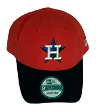 Orange & Black Houston Astros New Era 9Forty Adjustable Cap