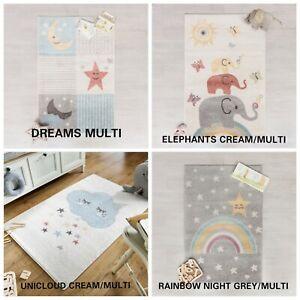 BAMBINO KIDDY SWEAT DREAMS SUPER SOFT NON-SLIP BABY MAT PASTEL 80 X 120 CM RUG