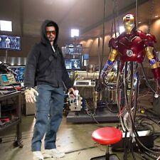 "1/6 Iron Man Lab Backdrop 15""x15"" - For Hot Toys Tony Stark Die Cast Iron Man 50"