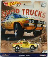 1:64 Hot Wheels Shop trucks Car culture Subaru Brat Pickup 2018