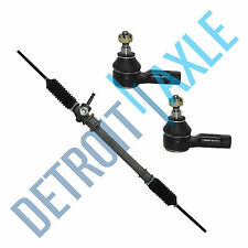 NEW Manual Steering Rack and Pinion Assembly +2 Outer Tie Rod  festiva Aspire
