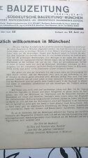1928 25 Architektur in München Funkhaus BlumenstrRamersdorf usw