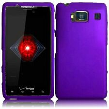 For Motorola Droid Razr HD XT926 Rubberized - Purple