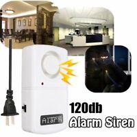 220V 120Db Anti Thief System Automatic Alarm Power Off Security Burglar Sensor