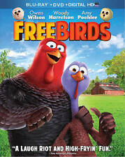FREE BIRDS BLU-RAY DISC 2 DVD SET 2013 ANIMATION BRAND NEW FREE SHIPPING