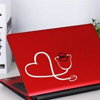 Art Nurse For Macbook Heart Wall Vinyl Decal Stethoscope Decal Sticker Doctor