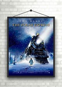 The Polar Express Classic Large Movie Poster Art Print A0 A1 A2 A3 A4 Maxi