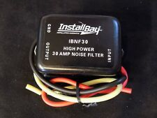 NOISE FILTER 30 AMPS HUM FILTER NOISE ENGINE SUPPRESSOR CAR POWER WIRE IBNF30